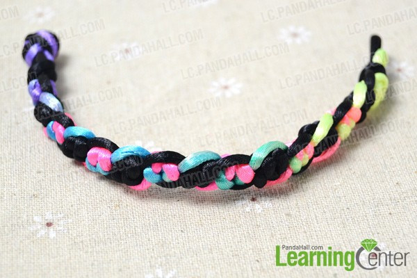 your handmade new bracelet