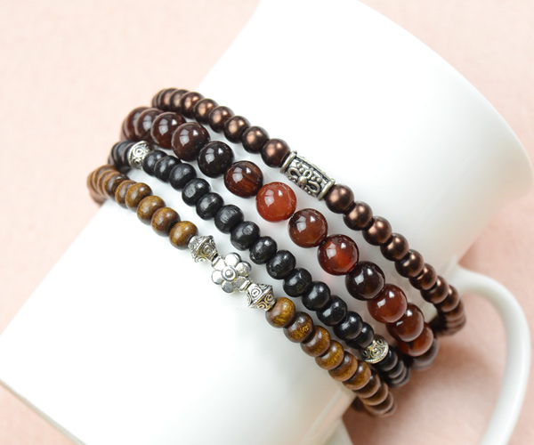 how to make beaded bracelets for men