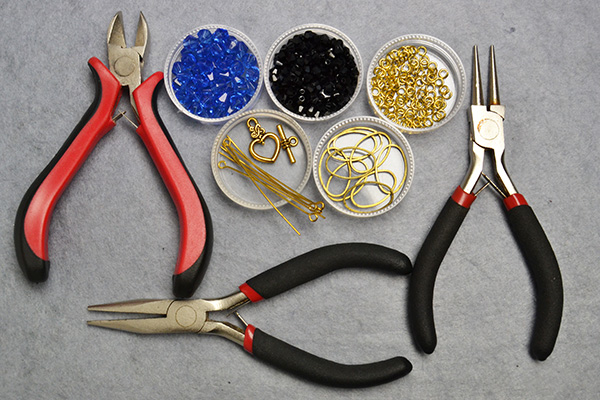 Supplies you'll need in making the oval link bracelet
