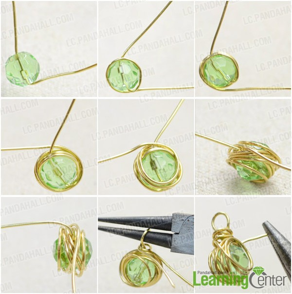 Outstanding Messy Wire Wrapping Technique For Diy Emerald Green Birthstone Wiring Database Xlexigelartorg