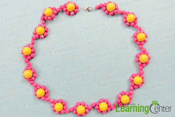 finish simple beaded necklace designs