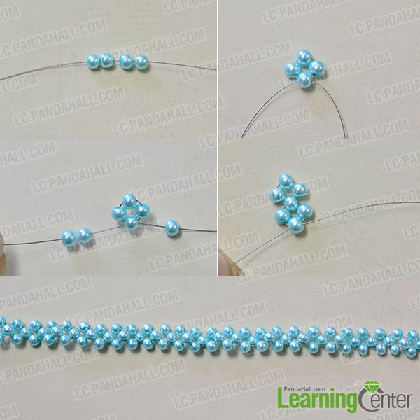 How to Make a Charming Ocean Inspired Glass and Pearl Beaded Collar ...