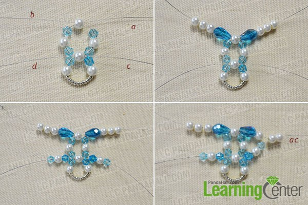 How to Make a Beaded Butterfly Charm Statement Necklace 2