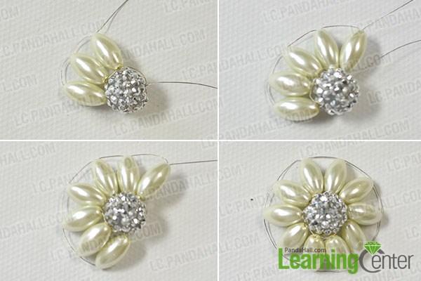 make bead flowers2