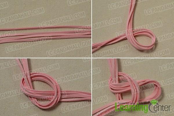 braid suede cords