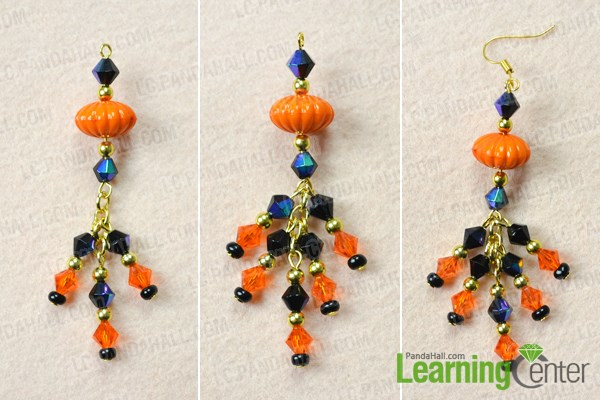 Finish DIY earrings costume jewelry