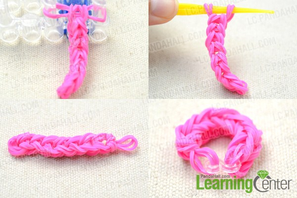 how to make rubber band bracelet with loom