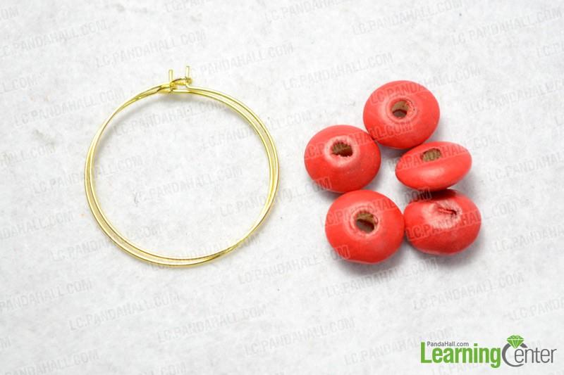 materials for making hoop earrings