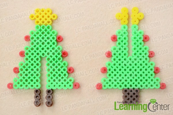 how to make 3d hama bead designs