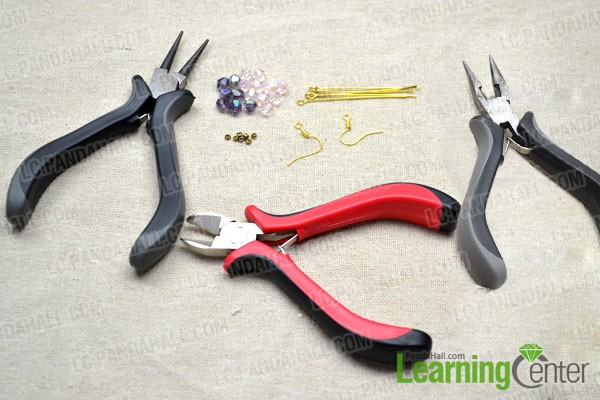 How To Make Long Chandelier Earrings With Brilliant