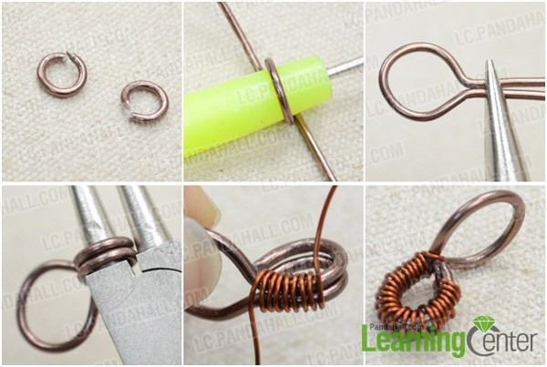 Step 3: Finish the wire wrapped pendant