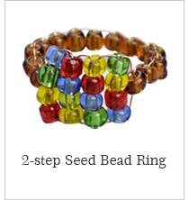 2-step Seed Bead Ring