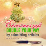 Christmas Gift - Double Your Pay