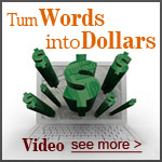 Turn Words into Dollars