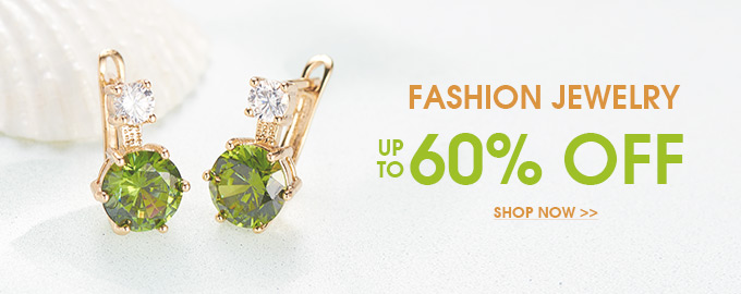 Fashion Jewelry Up to 60% OFF