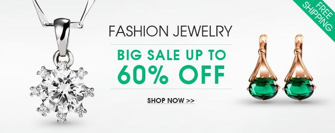 Fashion Jewelry Big Sale Up to 60% OFF