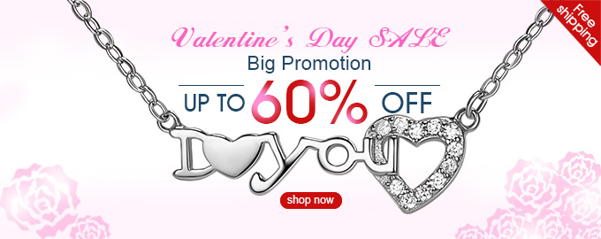 Valentine's Day SALE Big Promotion Up to 60% OFF