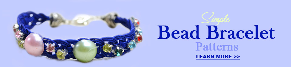 simple bead bracelet patterns