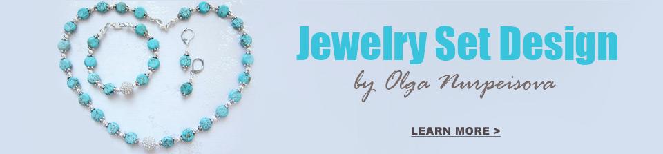 handmade jewelry set design