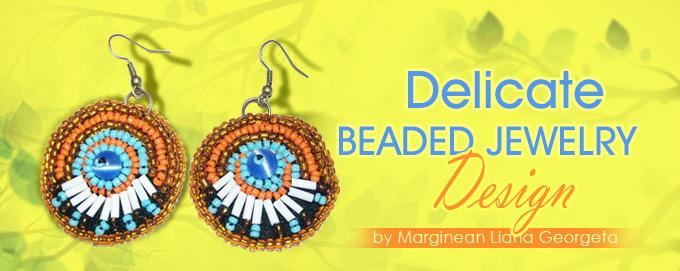 delicate beaded jewelry design