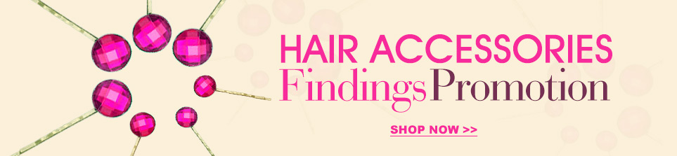 Hair Accessories Findings Promotion