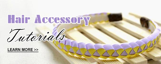 hair accessory tutorials