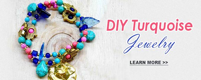 DIY Turquoise Jewelry
