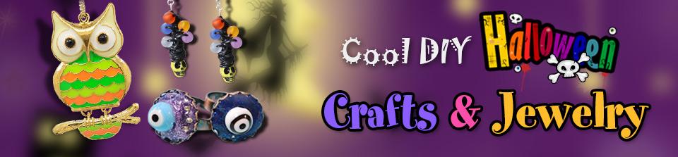 Cool DIY Halloween Crafts & Jewelry
