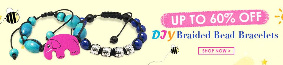 DIY Braided Bead Bracelets