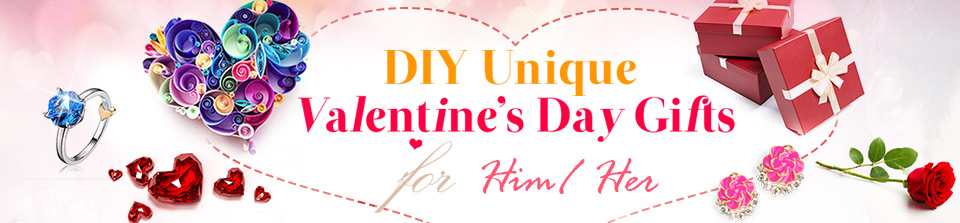 DIY Unique Valentine's Day Gifts for Him/ Her