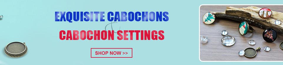 Exquisite Cabochons&Cabochon Settings