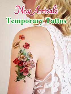 New Arrivals Temporary Tattos