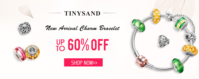 New Arrival Charm Bracelet UP TO 50% OFF