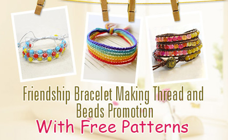 Friendship Bracelets Making Tutorials