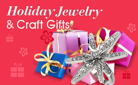 Holiday Jewelry & Craft Gifts