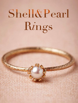 Shell&Pearl Rings