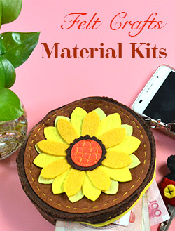 Felt Crafts Material Kits