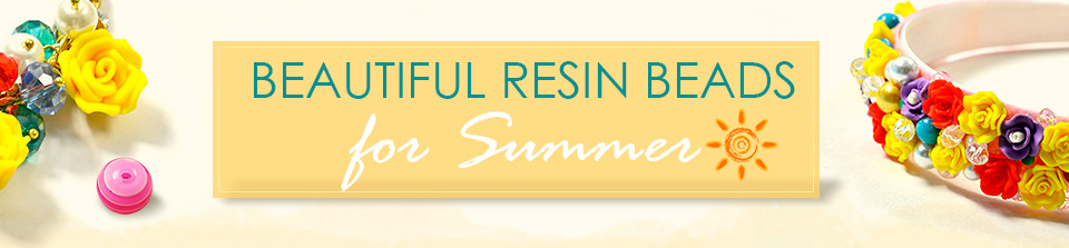 Beautiful Resin Beads for Summer
