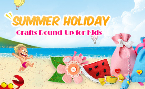 Summer Holiday Crafts For Kids