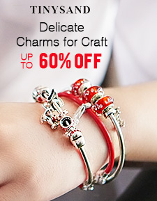 TINYSAND Delicate Charms for Craft UP TO 60 % OFF