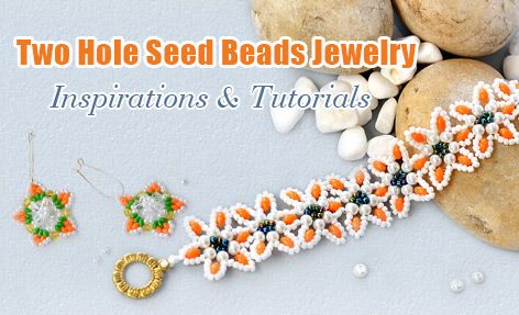 Two Hole Seed Beads Jewelry