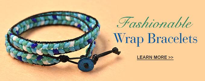 Fashionable Wrap Bracelets