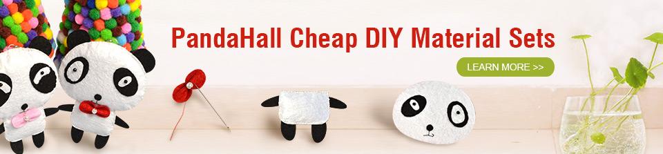 PandaHall Cheap DIY Material Sets
