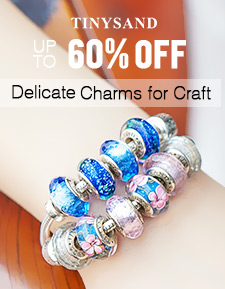 TINYSAND Delicate Charms for Craft UP TO 60% OFF