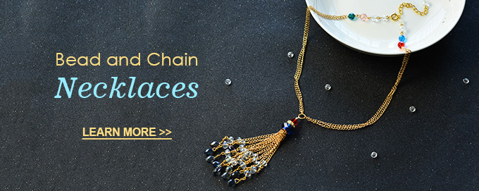 Bead and Chain Necklaces
