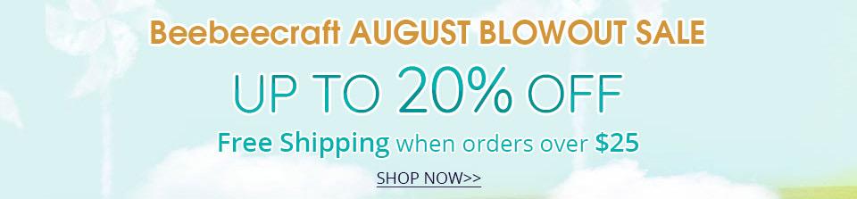 Beebeecraft August Blowout Sale