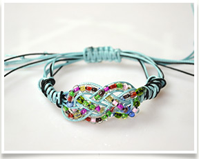 how to make friendship bands with beads