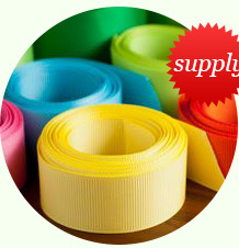 Ribbon supplies for crafting