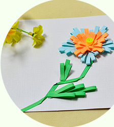Easy DIY Card—How to Make Quilling Flower Greeting Cards