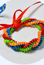 How to Make an Easy Colored Quilling Paper Bracelet for Kids